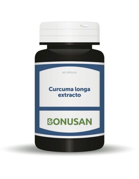 Curcuma Longa Extracto Bonusan - 60 cápsulas