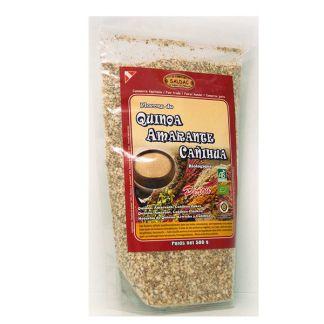 Cañihua, Amaranto y Quinoa El Oro de los Andes - 500 gramos