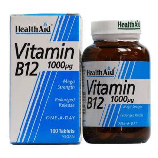Vitamina B12 Health Aid - 100 comprimidos