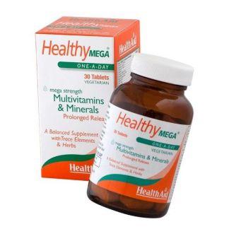 Healthy Mega Health Aid - 30 comprimidos