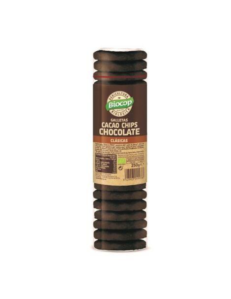 Galleta de Cacao con Chips de Chocolate Biocop - 250 gramos