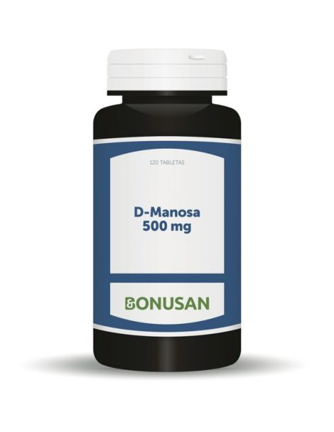 D-Manosa 500 mg. Bonusan - 120 tabletas