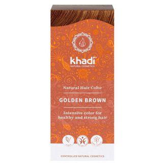 Tinte Castaño Dorado Khadi - 100 gramos
