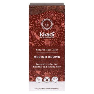 Tinte Castaño Medio Khadi - 100 gramos