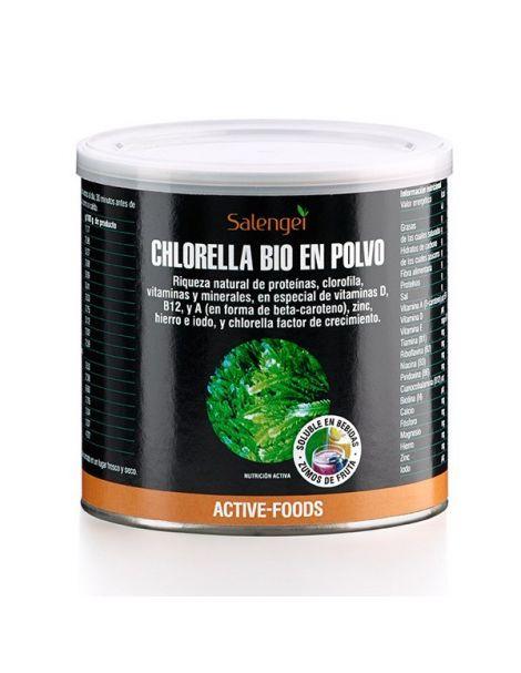 Chlorella Bio Active Foods Salengei - 200 gramos