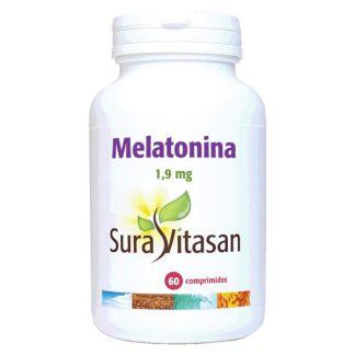 Melatonina 1.9 mg. Sura Vitasan - 60 cápsulas