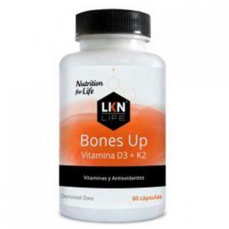Bones Up Vitamina D3+K2 LKN - 50 comprimidos