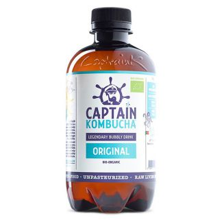 Bebida Kombucha Original Bio Captain Kombucha - 400 ml.