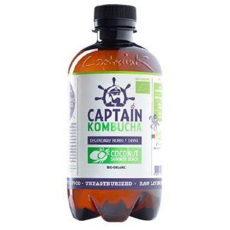 Bebida Kombucha Coco Bio Captain Kombucha - 400 ml.