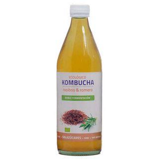 Bebida Kombucha Rooibos y Romero Eco Bioener - 500 ml.