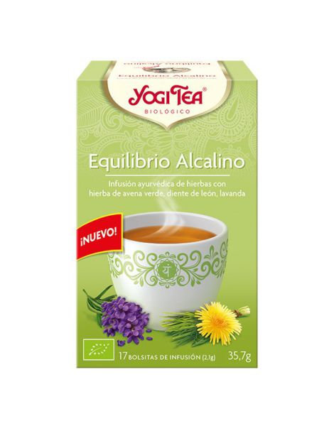 Yogi Tea Equilibrio Alcalino - 17 bolsitas