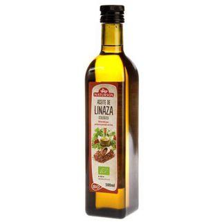Aceite de Linaza Bio Natursoy - 500 ml.