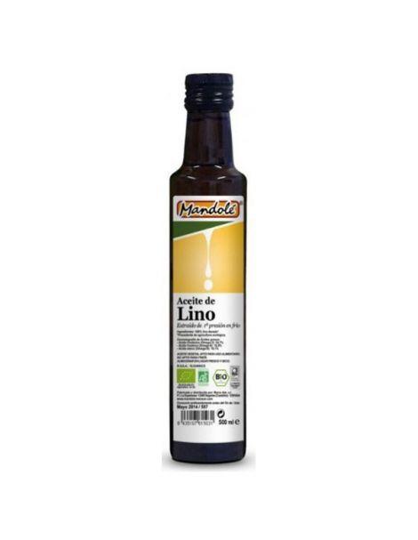 Aceite de Lino Bio Mandole - 500 ml.