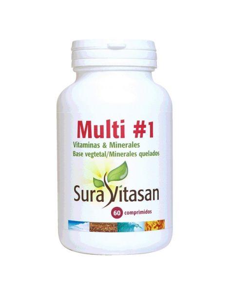 Multi 1 Vitaminas & Minerales Sura Vitasan - 60 comprimidos