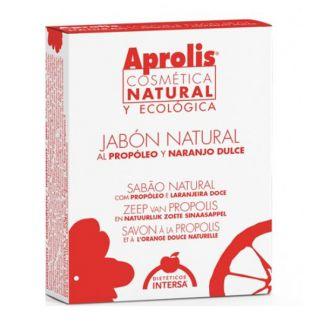 Aprolis Jabón Natural al Propóleo y Naranjo Dulce Intersa - 10 gramos