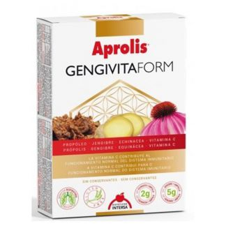 Aprolis Gengivitaform Intersa - 20 ampollas