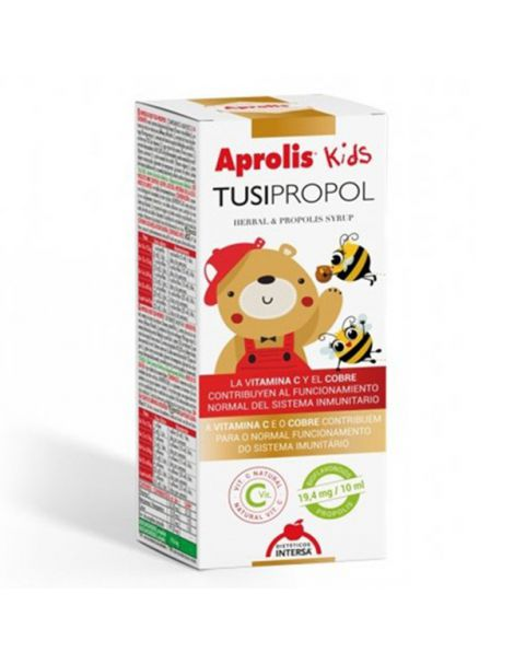 Aprolis Kids Tulsi-Propol Jarabe Intersa - 105 ml.