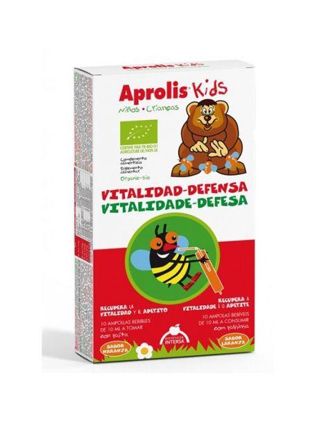 Aprolis Kids Vitalidad-Defensa Intersa - 10 ampollas