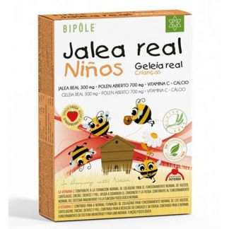 Bipole Jalea Real Fresca Infantil Intersa - 20 ampollas