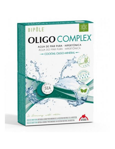 Bipole Oligocomplex Intersa - 20 ampollas