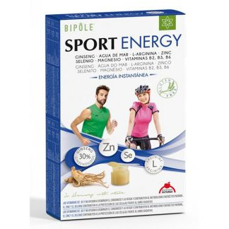 Bipole Sport Energy Intersa - 20 ampollas