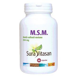 M.S.M. 850 mg. Sura Vitasan - 90 cápsulas