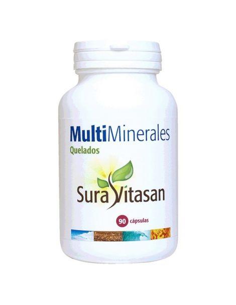 MultiMinerales Quelados Sura Vitasan - 90 cápsulas