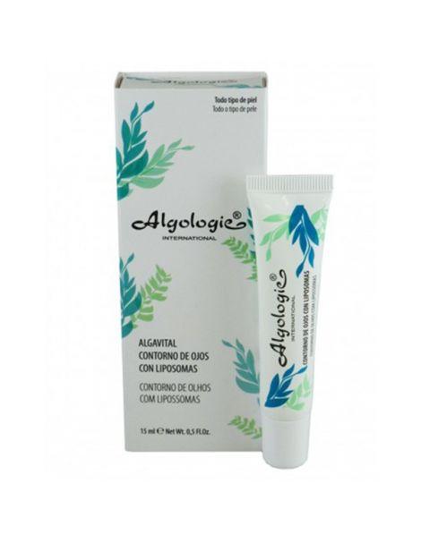 Alga Vital Contorno de Ojos con Liposomas Algologie - 15 ml.