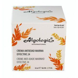 Crema Antiedad Marina Efecto 24 Horas Algologie - 50 ml.