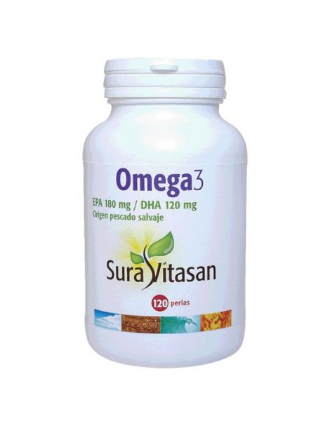 Omega 3 1200 mg. Sura Vitasan - 120 perlas