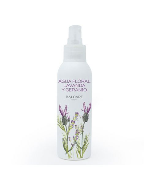 Agua Floral con Lavanda y Geranio Balcare - 100 ml.