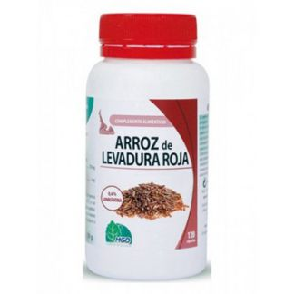 Arroz de Levadura Roja MGD - 120 cápsulas