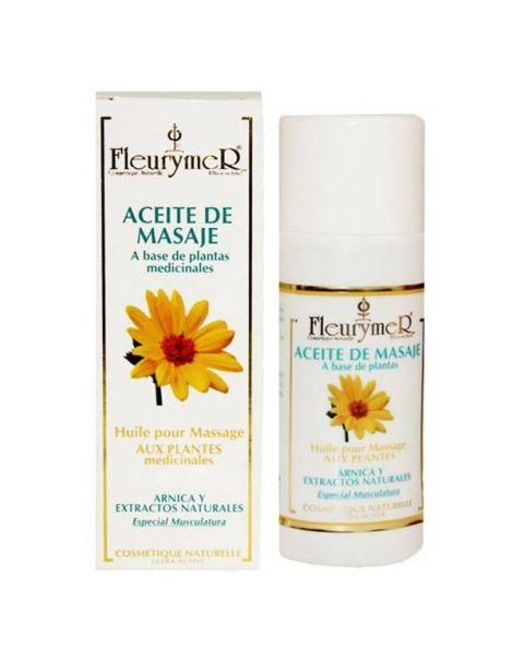 Aceite de Masaje con Plantas Fleurymer - 250 ml.