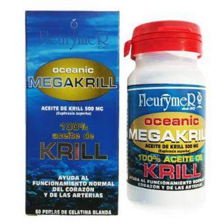 Aceite Megakrill Fleurymer - 60 cápsulas