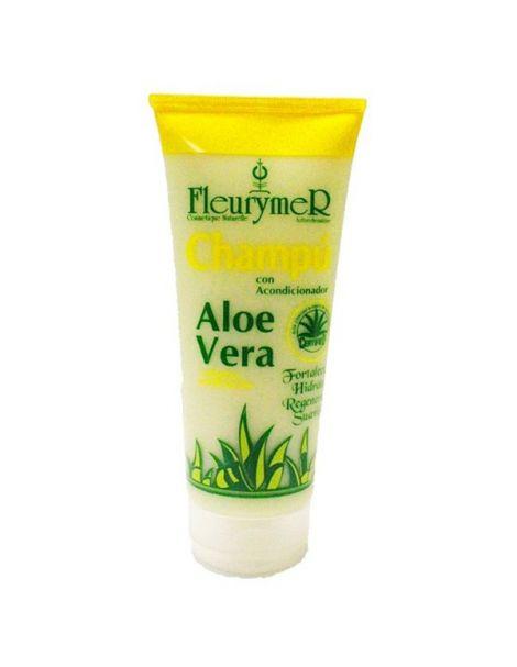 Champú y Acondicionador de Aloe Vera y Plantas Medicinales Fleurymer - 200 ml.