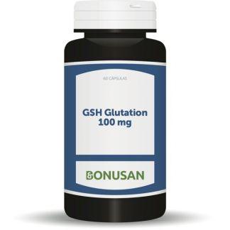 GSH Glutation 100 mg. Bonusan - 60 cápsulas