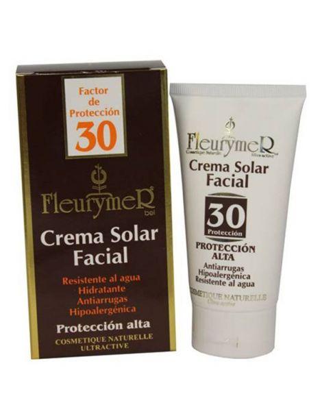 Crema Solar Facial SPF 30 Fleurymer - 80 ml.