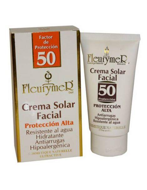Crema Solar Facial SPF 50 Fleurymer - 80 ml.
