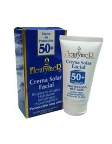 Crema Solar Facial SPF 50+ Fleurymer - 80 ml.