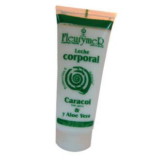 Leche Corporal de Baba de Caracol y Aloe Vera Fleurymer - 200 ml.