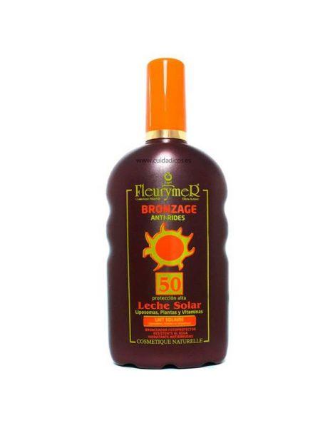 Leche Solar SPF 50 Fleurymer - 250 ml.