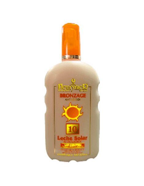 Leche Solar Zanahoria SPF 10 Fleurymer - 250 ml.