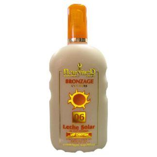 Leche Solar Zanahoria SPF 6 Fleurymer - 250 ml.