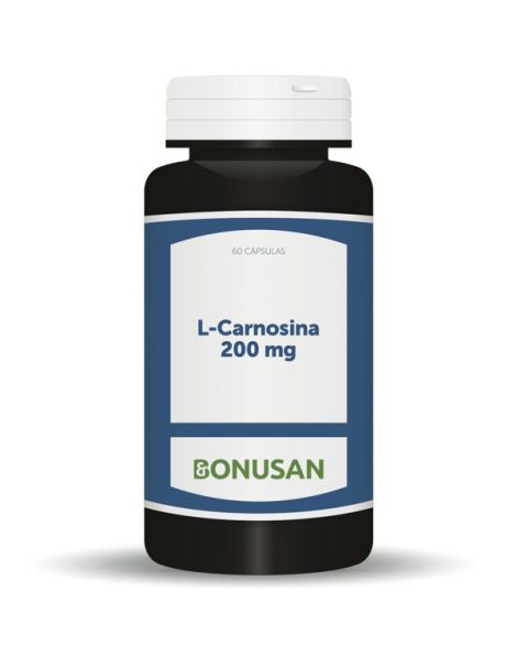 L-Carnosina 200 mg. Bonusan - 60 cápsulas