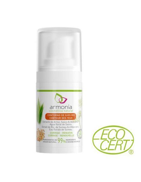 Crema Contorno de Ojos con Aloe Bio Armonía - 15 ml.