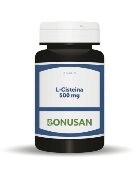 L-Cisteína 500 mg. Bonusan - 60 tabletas