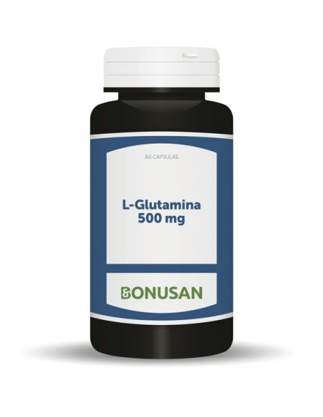 L-Glutamina 500 mg. Bonusan - 60 cápsulas