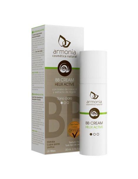 BB Cream Helix Active Tono Oscuro Bio Armonía - 30 ml.
