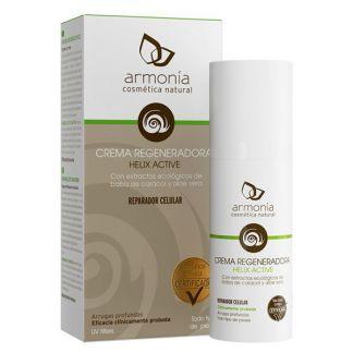 Crema Regeneradora Baba de Caracol Helix Active Bio Armonía - 50 ml.
