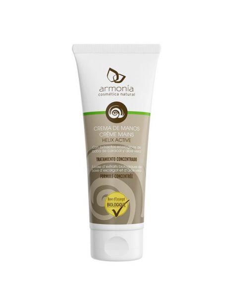 Crema de Manos Baba de Caracol Helix Active Bio Armonía - 75 ml.